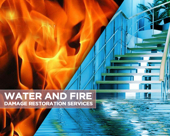 Water and Fire Damage Restoration Services