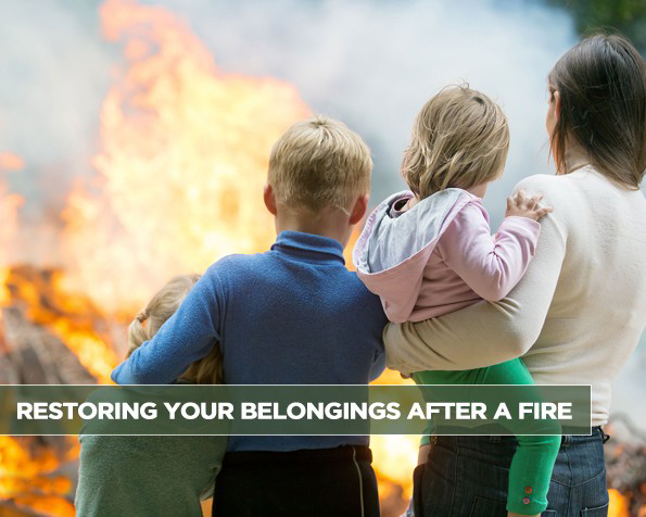 Restoring Your Belongings After a Fire