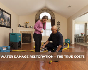 Water Damage Restoration – The True Costs