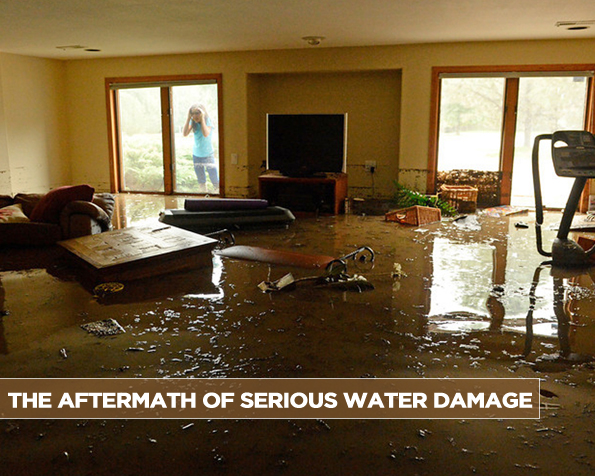 The Aftermath of Serious Water Damage