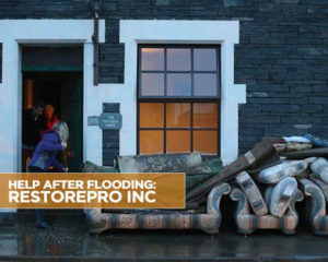 HELP AFTER FLOODING: RESTOREPRO INC