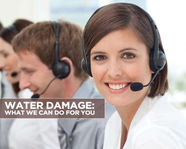 Water Damage What We Can Do For You