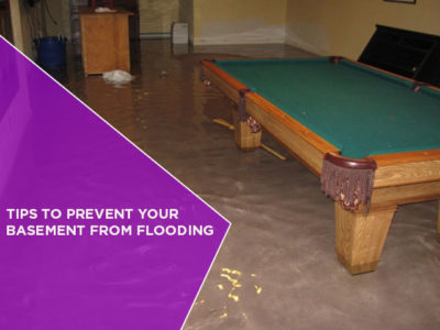 Tips to Prevent Your Basement from Flooding