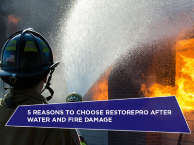 5 Reasons To Choose RestorePro After Water And Fire Damage