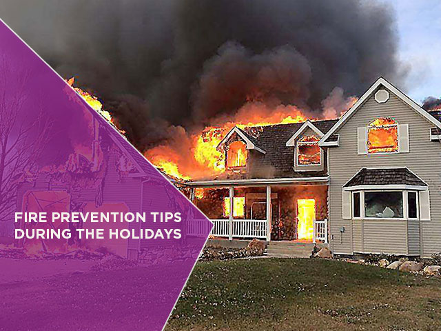 Fire Prevention Tips During the Holidays