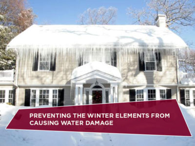 Preventing the Winter Elements from Causing Water Damage