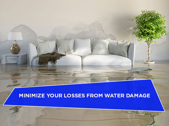 Minimize Your Losses From Water Damage