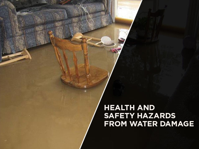 Health and Safety Hazards from Water Damage