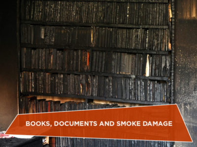 Books, Documents and Smoke Damage
