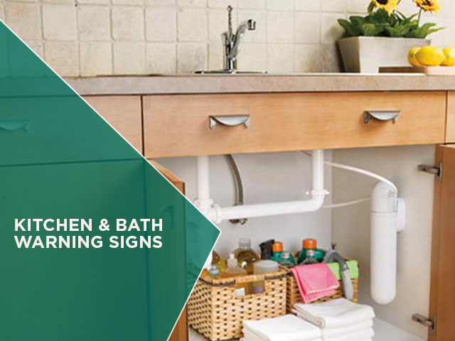 Kitchen and Bath Warning Signs