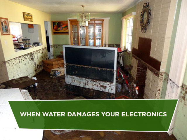 When Water Damages Your Electronics
