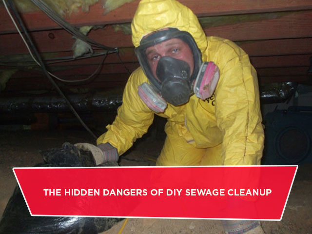 The Hidden Dangers Of DIY Sewage Cleanup