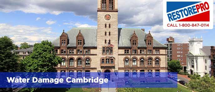 Water Damage Cambridge
