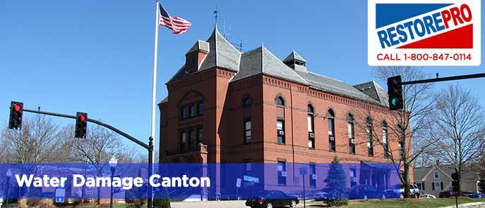 Water Damage Canton