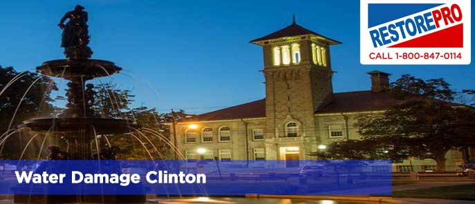 Water Damage Clinton