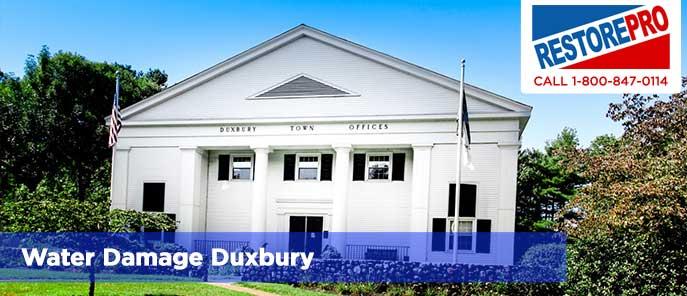 Water Damage Duxbury