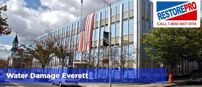 Water Damage Everett