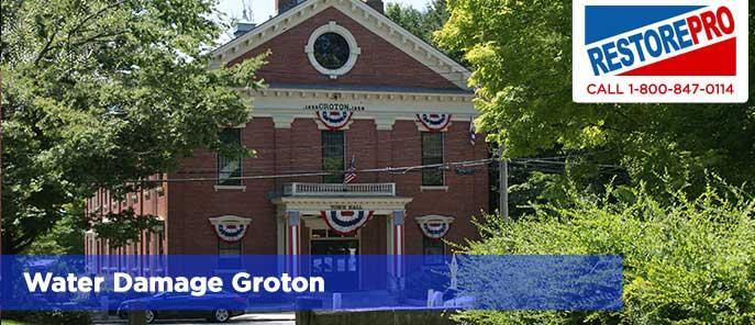 Water Damage Groton