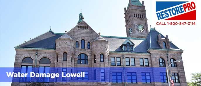 Water Damage Lowell