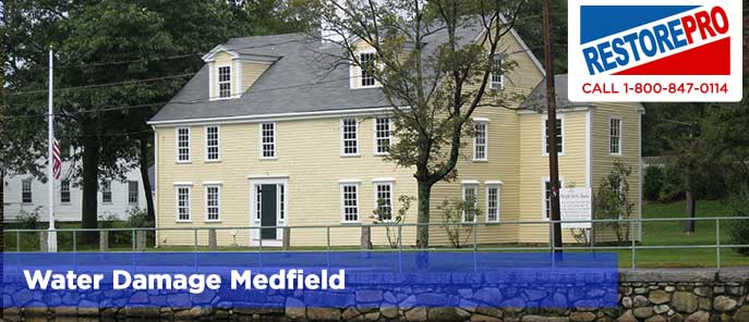 Water Damage Medfield