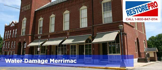Water Damage Merrimac