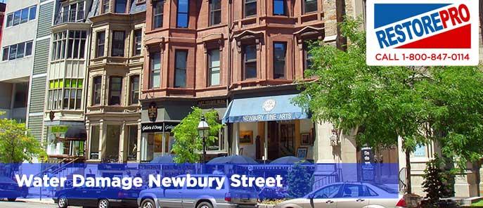 Water Damage Newbury Street