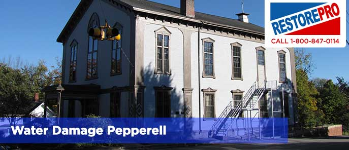 Water Damage Pepperell