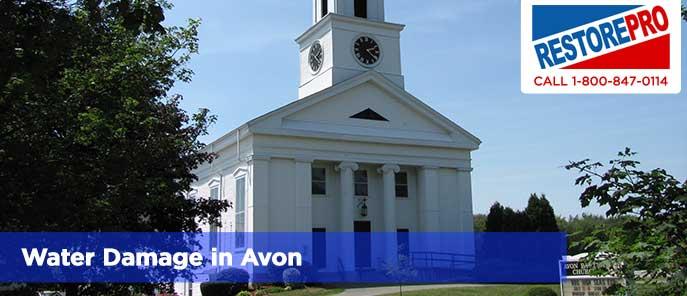 Water Damage in Avon