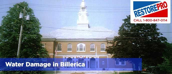 Water Damage in Billerica