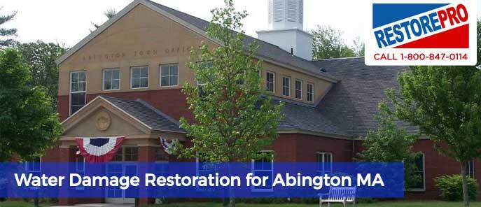 Water Damage Abington