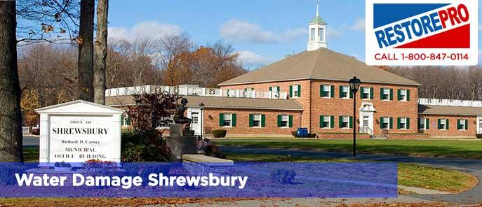 Water Damage Shrewsbury