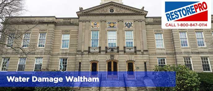 Water Damage Waltham