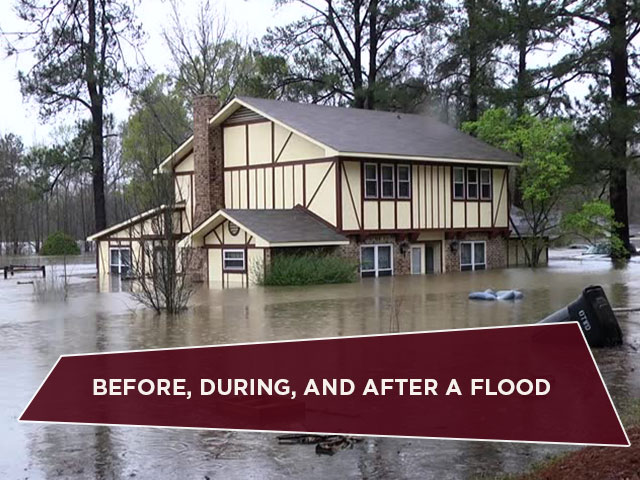 Before, During, and After A Flood