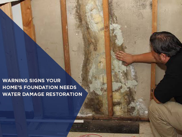 Warning Signs Your Home's Foundation Needs Water Damage Restoration