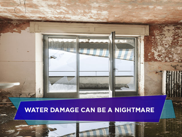 Water Damage Can be a Nightmare