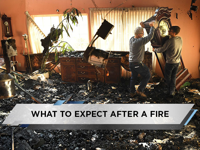 What to Expect After a Fire