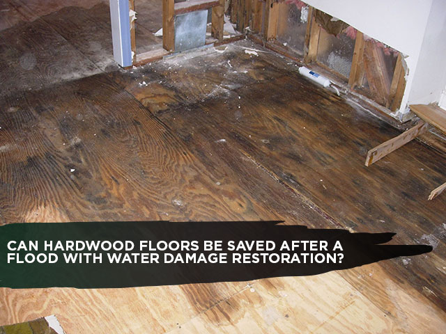 Can Hardwood Floors Be Saved After A Flood With Water Damage Restoration?