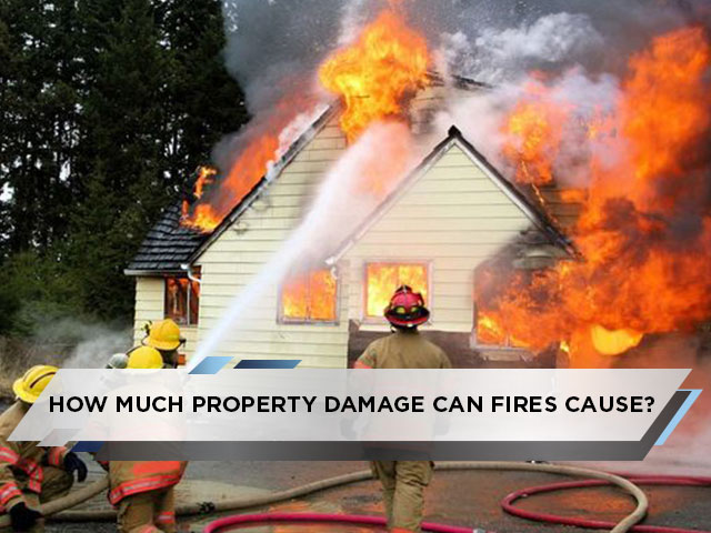 How Much Property Damage Can Fires Cause? Can Fire Damage Restoration Restore It?